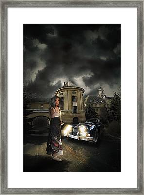 Lady Of The Night Framed Print