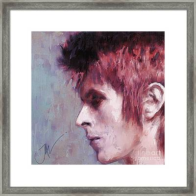 Lady Stardust Framed Print by John Lowther