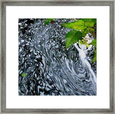 Lady Suds Framed Print by Karen Horn