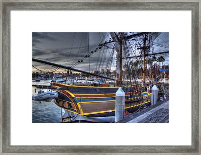 Lady Washington Framed Print by Heidi Smith