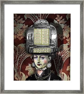 Lady Wurlitzer Framed Print by Larry Butterworth