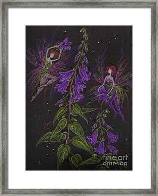 Ladybells Framed Print by Dawn Fairies