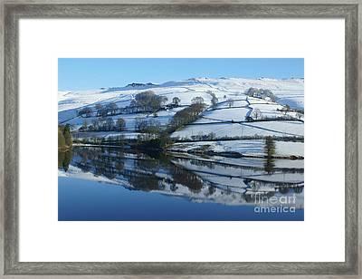 Ladybower Reflections Framed Print by David Birchall
