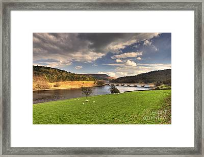 Ladybower Reservoir  Framed Print by Rob Hawkins