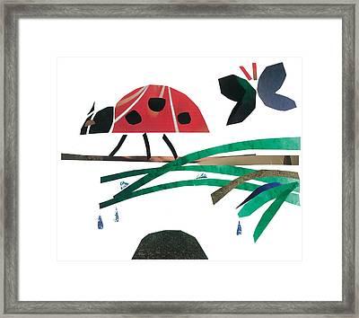 Ladybug Framed Print by Earl ContehMorgan