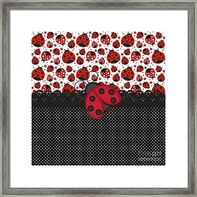 Ladybug Mood  Framed Print