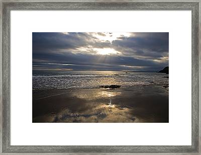 Ladys Cove, The Copper Coast, County Framed Print by Panoramic Images