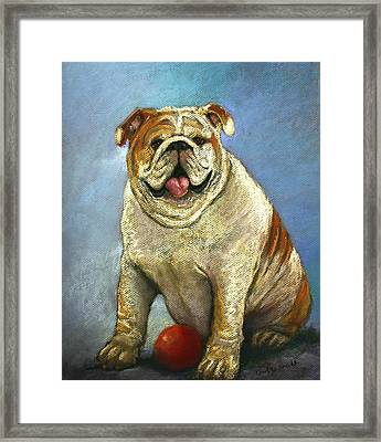 Lady's Man Framed Print