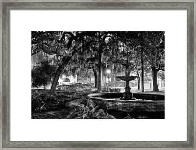 Lafayette Square Framed Print