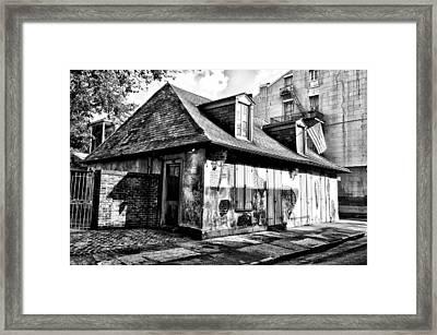 Lafittes Blacksmith Shop Bar Framed Print by Bill Cannon