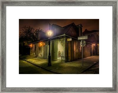 Lafittes Blacksmith Shop Framed Print by David Morefield