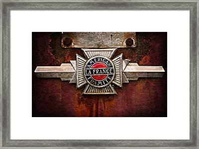 Lafrance Badge Framed Print