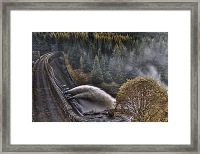 Laggan Dam Framed Print