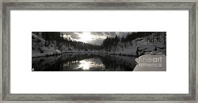 Lago Delle Streghe Framed Print by Marco Affini