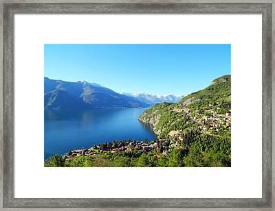 Lago Di Como Italy  Framed Print