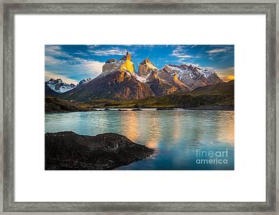Lago Nordenskjold Framed Print