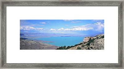 Lago  San Martin, Patagonia, Argentina Framed Print