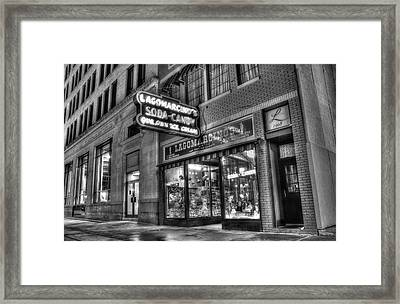 Lagomarcino's Framed Print by Ray Congrove