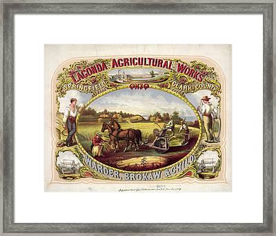 Lagonda Advertisement Framed Print by Granger