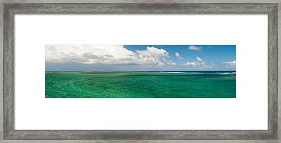 Lagoon, Chamarel, Mauritius Island Framed Print