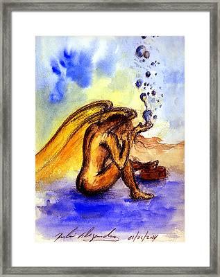 Lagrimas De Angel Framed Print