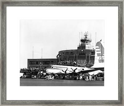 Laguardia Airport In Queens Framed Print
