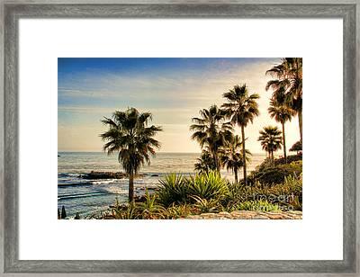 Laguna Beach Framed Print by Mariola Bitner