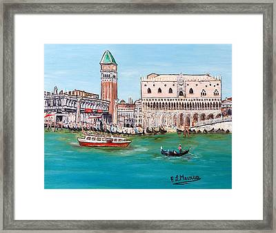 Laguna Framed Print by Loredana Messina