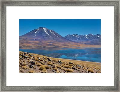 Laguna Miscanti Framed Print