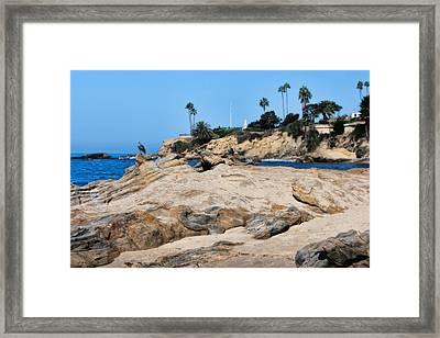 Laguna Framed Print by Tammy Espino