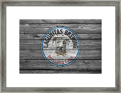 Lagunitas Brewing Framed Print by Joe Hamilton