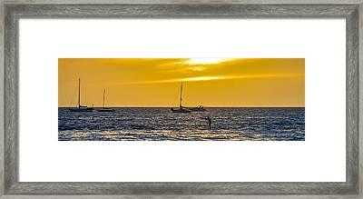 Lahaina Slide Framed Print by Cameron Howard