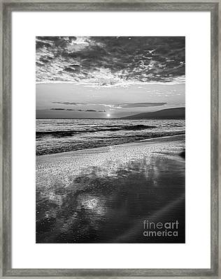 Lahaina Sunset Framed Print by Jamie Pham