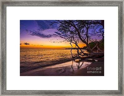 Lahaina Twilight Framed Print