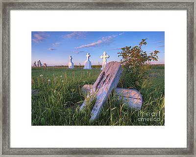 Laid To Rest Framed Print