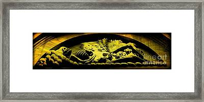 Laid To Rest Framed Print by John Malone