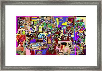 Lail Haseder 4 Bais Framed Print by David Baruch Wolk