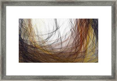 Lair Again Framed Print by Constance Krejci