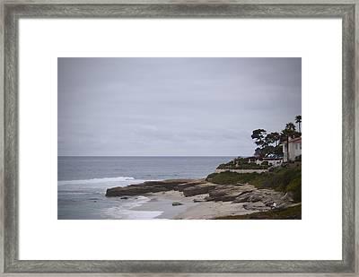 Lajolla Shoreline Framed Print