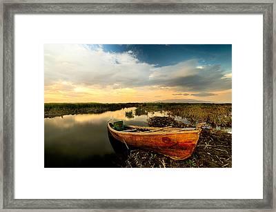 Lake - 6 Framed Print by Okan YILMAZ