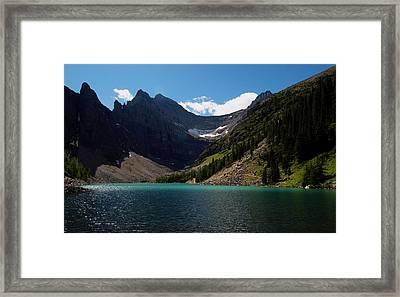 Lake Agnes Framed Print