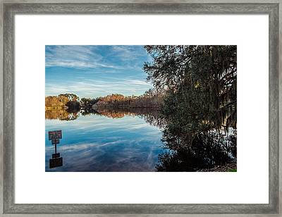 Lake Alice Framed Print