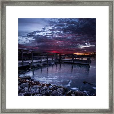 Lake Alvin Framed Print