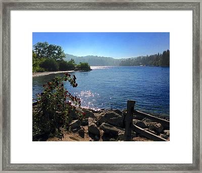 Lake Arrowhead Framed Print