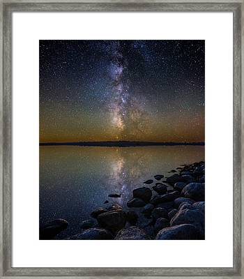 Lake Benton Framed Print