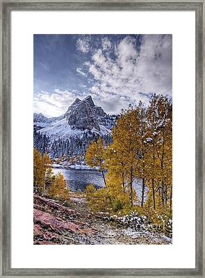 Lake Blanch Framed Print by Earl Nelson