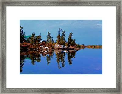 Lake Brereton Framed Print