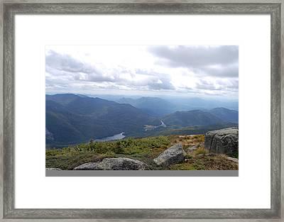 Lake Colden And Flowed Lands Framed Print