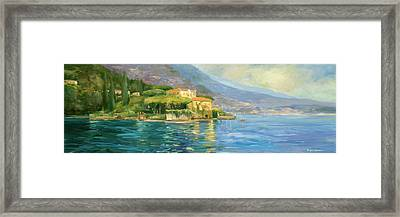 Lake Como Framed Print