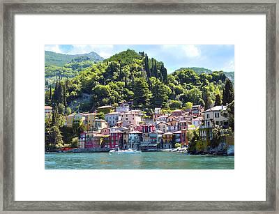 Lake Como - Italy Framed Print